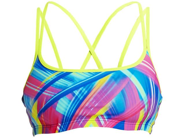 Funkita Criss Cross Top bikini Donna, frickin laser